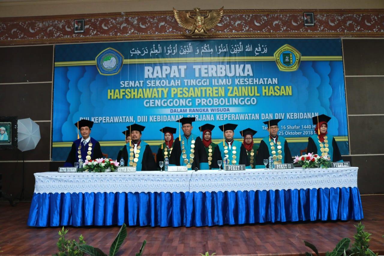 STIKes Hafshawaty, Wisuda 408 Lulusan Tahun 2018
