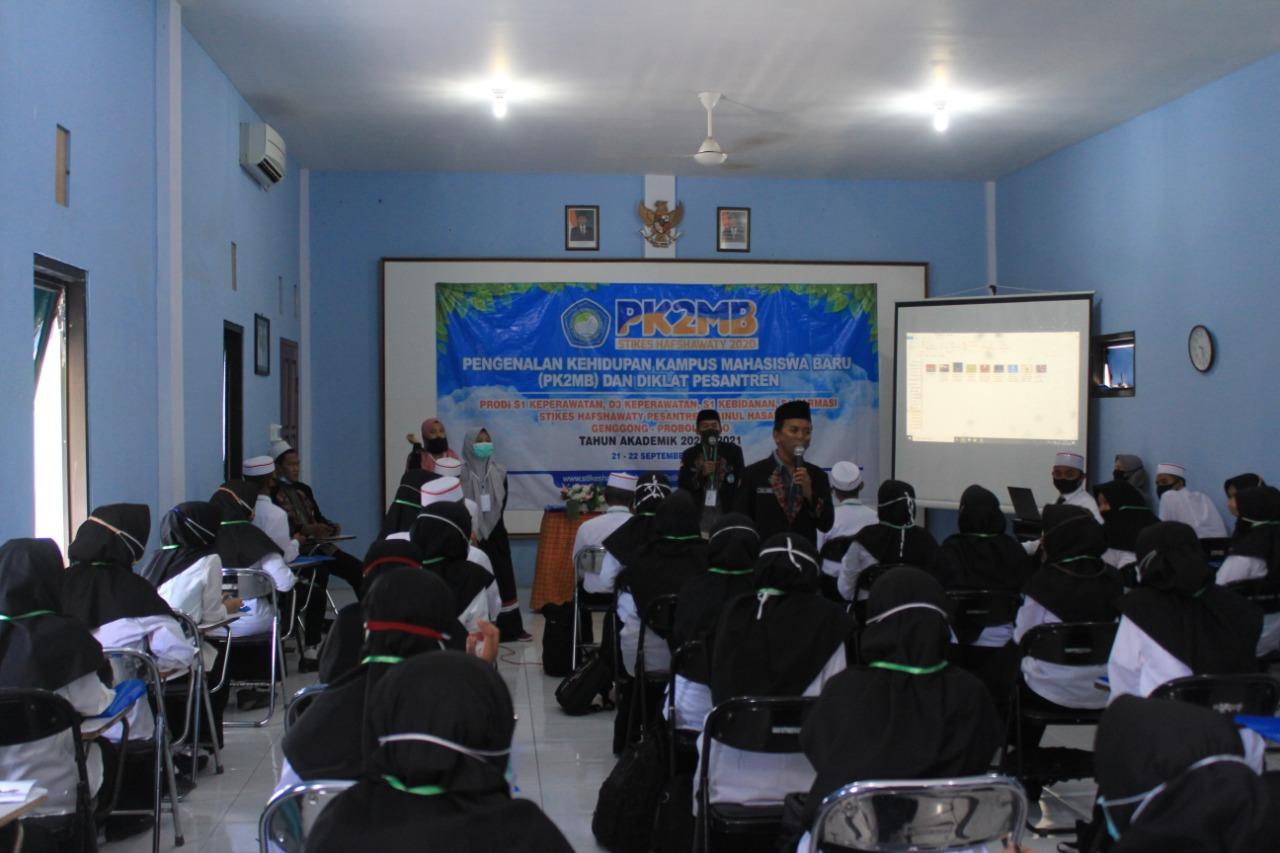 Terapkan Protokol Kesehatan, STIKES Hafshawaty Gelar PK2MB