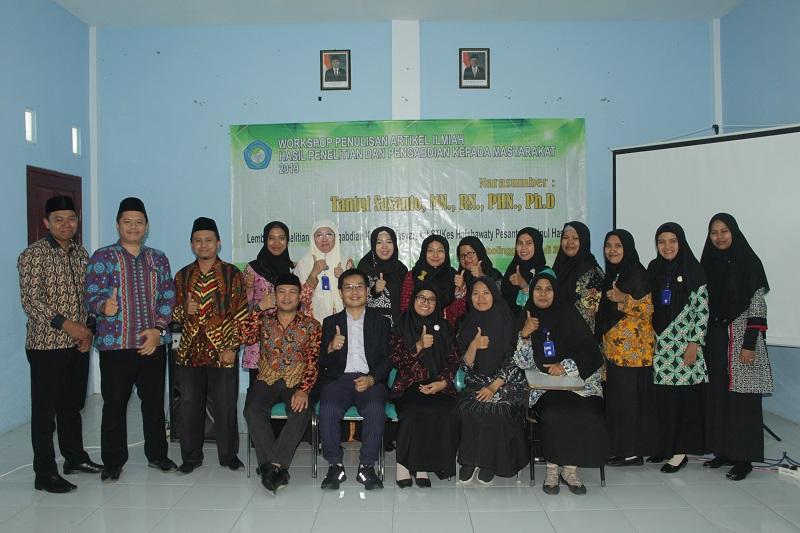 Workshop Penulisan Artikel Ilmiah