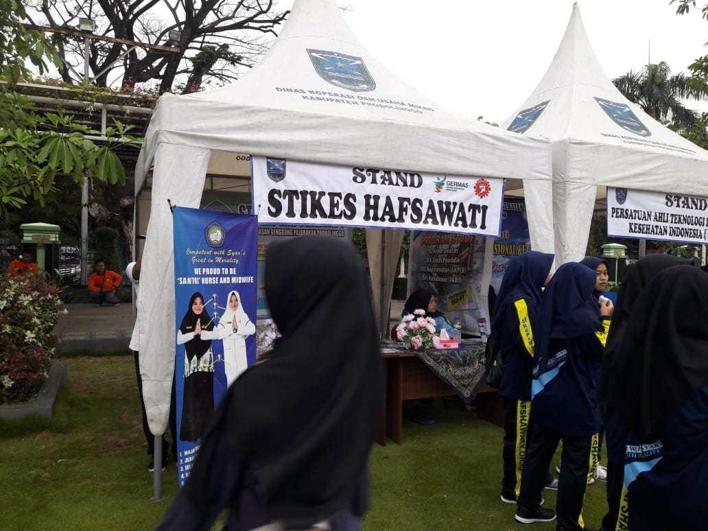 STIKes Hafshawaty Berpartisipasi Sukseskan Acara Puncak Peringatan HKN 2018